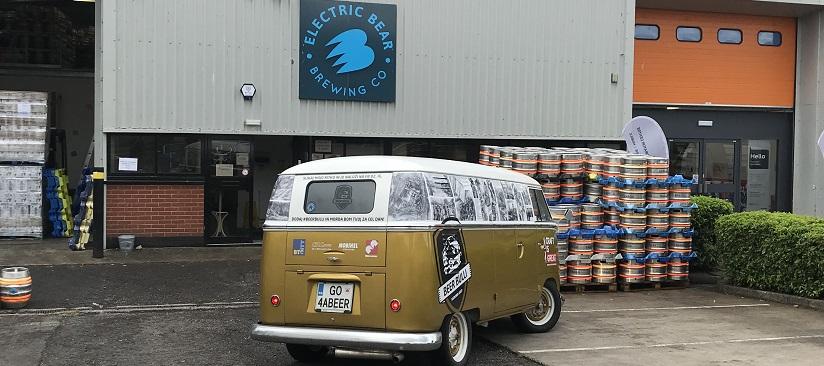 Beer Bulli van at Electric Bear Brewing Company