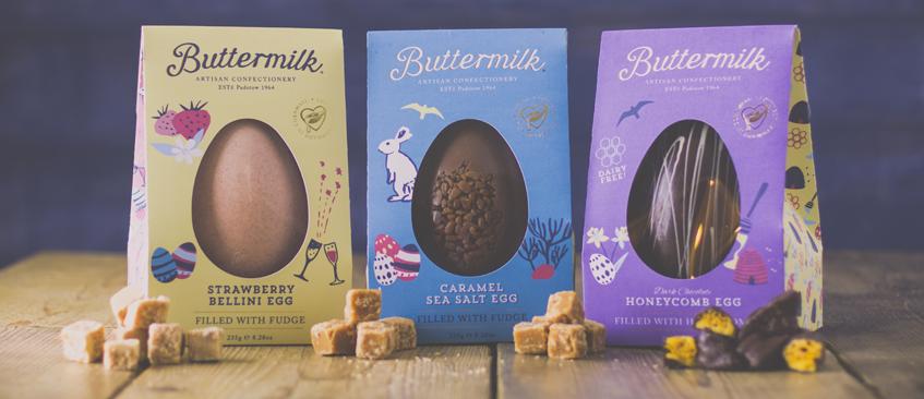Buttermilk Easter Range