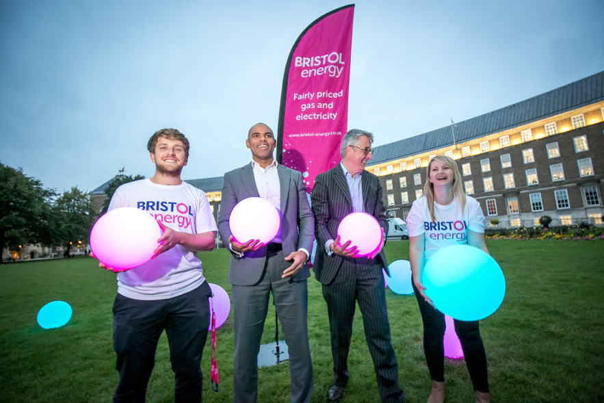 Marvin Rees and Peter Haigh - Bristol Energy