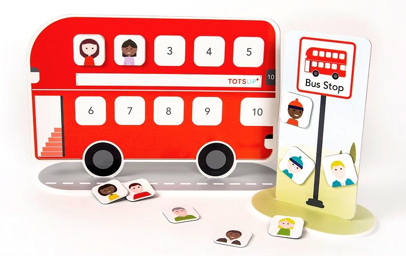 TotsUp reward bus