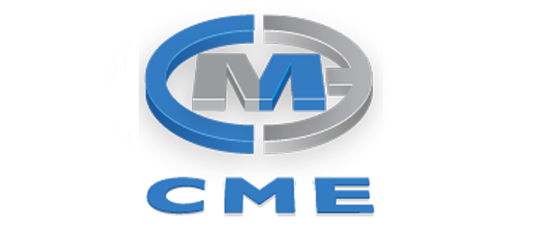 Colin Mear Engineering logo with blue and grey lettering