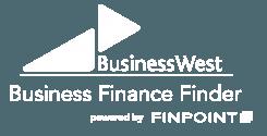 Business West Finance Finder Logo White
