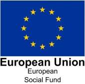 European Social Fund logo with EU flag