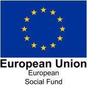 European Social Fund logo with EU flag