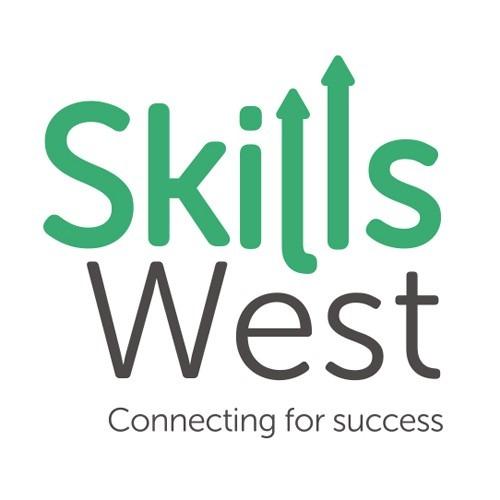 Skills West logo