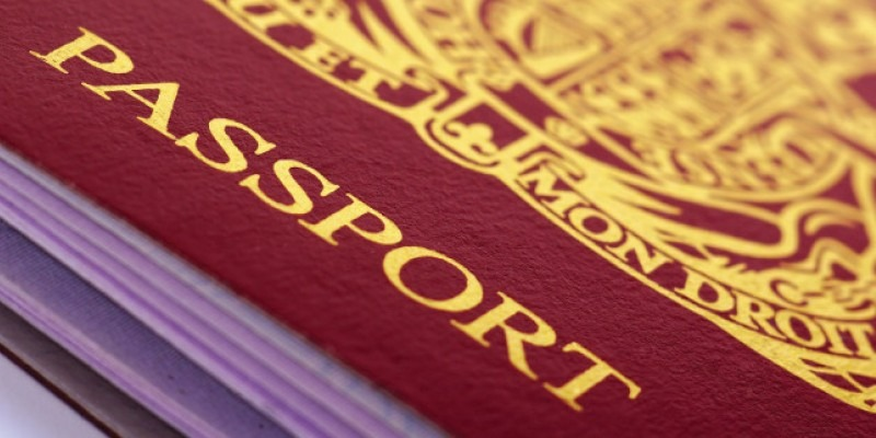 Trade officers with passports