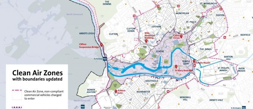 Bristol Clean Air Zone – tell us your views