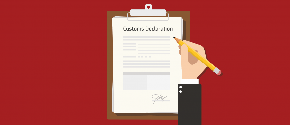 Customs Declaration Document
