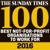 Sunday Times best 100 logo